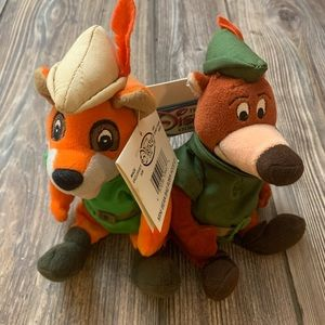 Disney Robin Hood Mini Bean Bag Plush Little John
